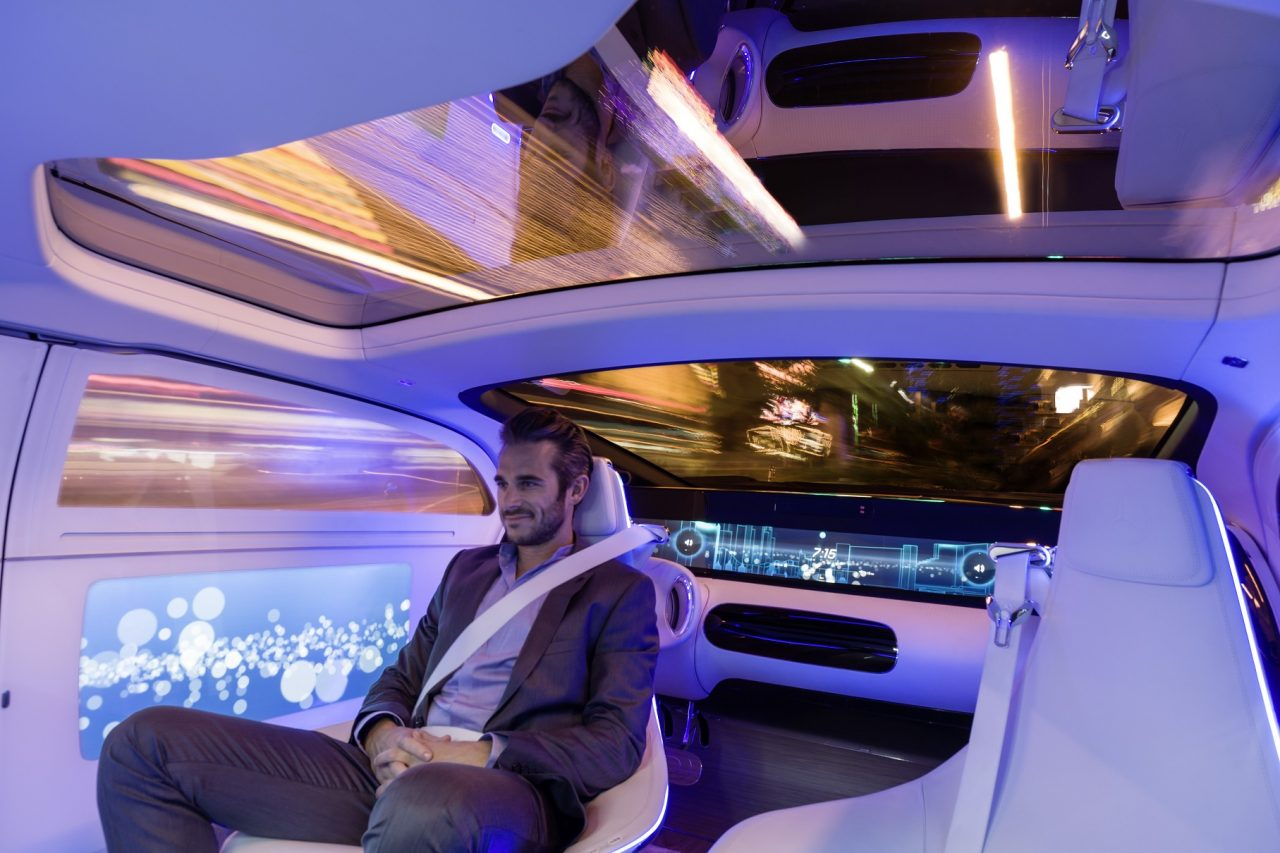 Mercedes, masina care se conduce singura