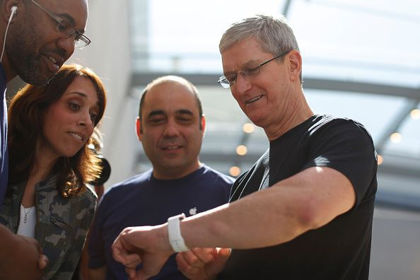 Tim Cook glucometru Apple iWatch