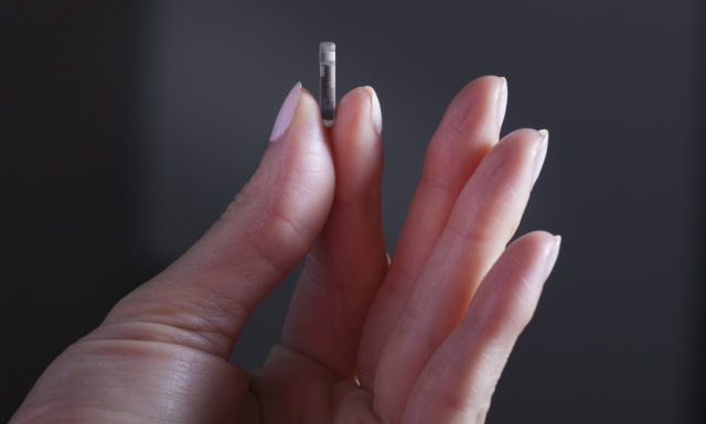 senzor de glicemie implantabil