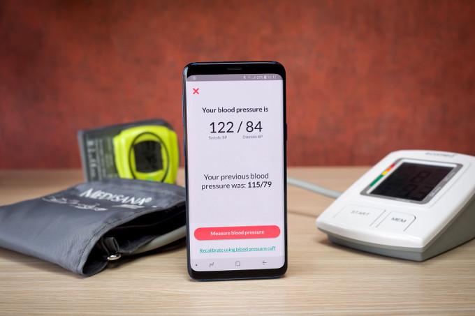 Galaxy S9 tensiune arteriala