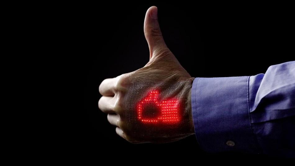monitorizarea semnelor vitale piele electronica